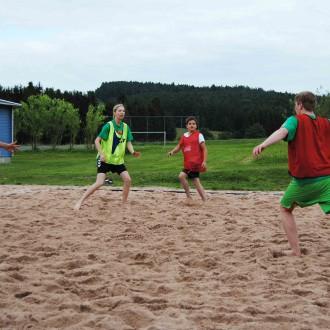 Bald ist wieder Beachturnier der Handballer