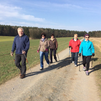 Nordic Walking : Training in der Winterzeit