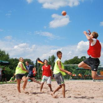 Beachday der Handballer