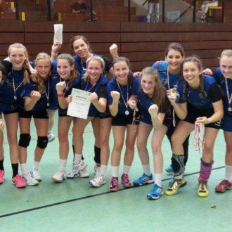 Weibliche B-Jugend gewinnt Bezirkspokal!