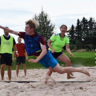 Beachhandball-Tag mit viel Spaß