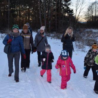 Winterwanderung unserer TVW Handballkinder