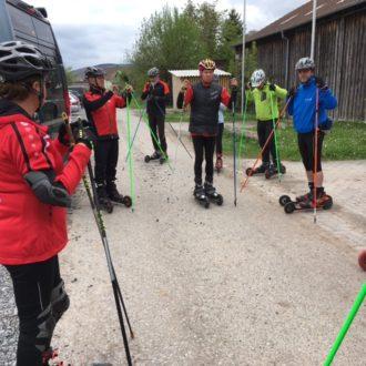 Saisonstart Skike, Nordic Blading und Slackline