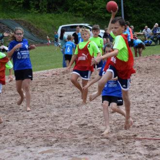 Tolle Leistungen und viel Gaudi beim E-Jugend Beach-Turnier