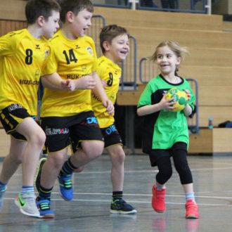 Toller Turniertag der Handball-Minis und der E-Jugend
