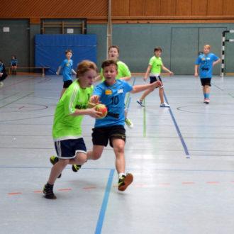 Erfolgreiche E-Jugendteams beim HSC-Turnier