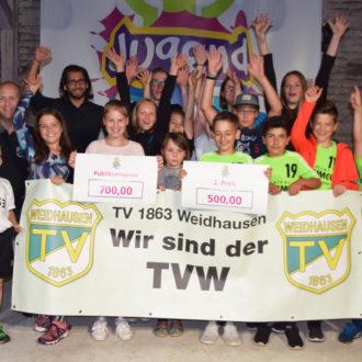 Gewonnen! Publikumspreis und Zweiter beim SÜC-Jugendcup!