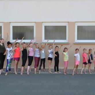 Technik-Tanz-Workshop begeistert die jungen Mädchen