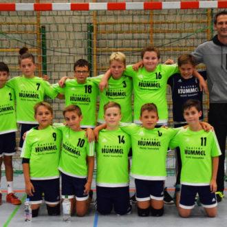 mD-Jugend: HSG Rödental/Neustadt – SG K/W I 13:12 (4:8)