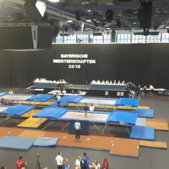 Trampolin – Besuch bei den Bayerischen Jahrgangsmeisterschaften
