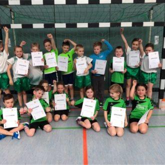 Mini- und E-Jugendspieltag beim HSC Coburg