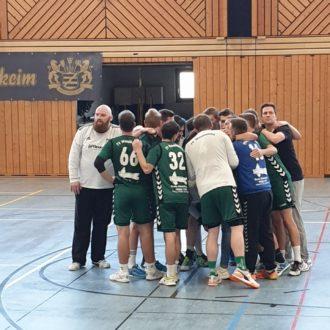 HSV Hochfranken : TV Weidhausen 38:26 (20:14)