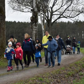 Winterwanderung Kinderhandball