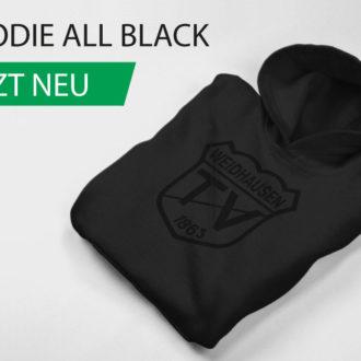 Neu im TVW Fanshop: Hoodie all black