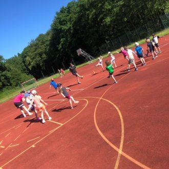 Trainingsstart der Mini-Handballer