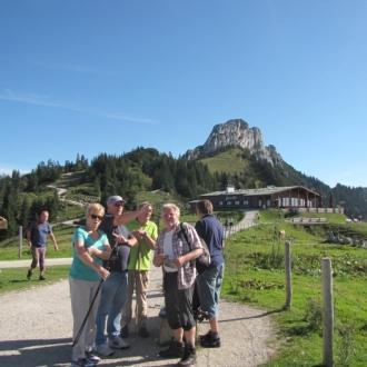 Ausflug in die Chiemgauer Alpen